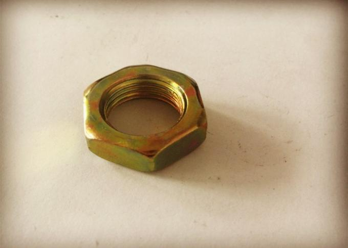 M18*1.5 Electroplated Color Zinc Hexagon Thin Carbon Steel Nuts