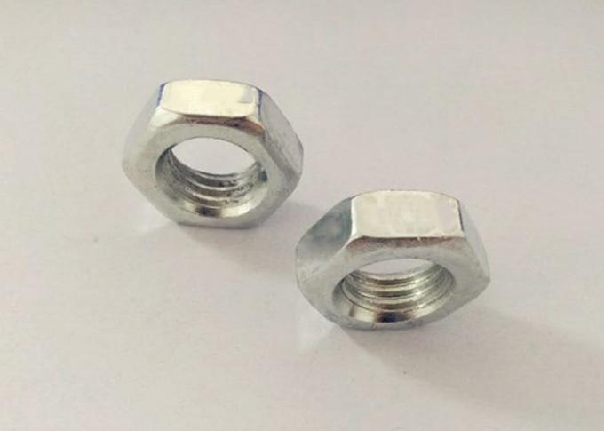 Highway Bridges Structural M12 Hex Nut With 1.75mm Pitch 7mm Thickness
