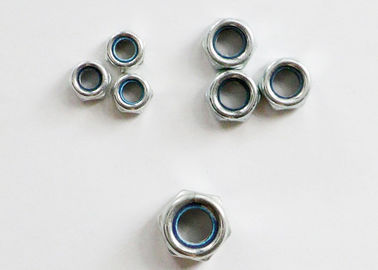 China M6-M20 Galvanized Nylon Lock Nut Q235 Material Anti Theft For Daily Necessities supplier