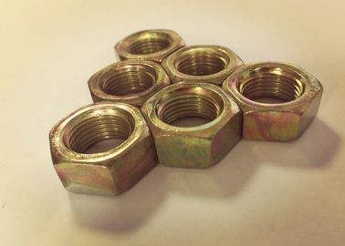 China Chinese Standard Fine Thread Hex Nuts , M16x1.5 Nut For Large Heavy Engineering supplier