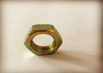 China M18*1.5 Electroplated Color Zinc Hexagon Thin Carbon Steel Nuts supplier