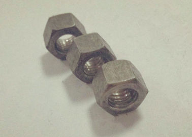 Plain Passivation M10 GB55 High Hex Nuts Carbon Steel Material For Server Rack Cabinet