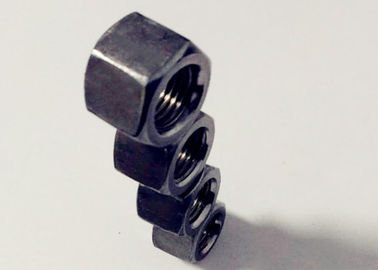 Anti Rust M14x1.5 Black Hexagon Nuts For High Speed Rotating Connection