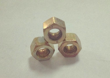 China Small Thickening M6x1 Hexagon Nuts , Thin Hex Nuts High Dimensional Accuracy factory