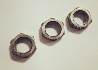 China Custom Size Hexagon Thin Nuts , M16x1.5 Nut 8mm Thickness With Untreated Finish factory